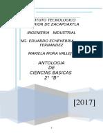 ANTOLOGIA CALCULO