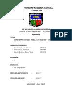 REPORTE. Estandarizacion Del Tiosulfato de Sodio y EDTA