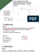 Exercicios - Concreto I - Prova AV1