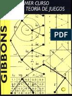 .Un Primer Curso de Teoría de Juegos - (Robert Gibbons)