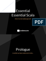 Essential Essential Scala