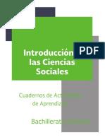Ciencias Sociales. Actividades. 8 Octubre de 2016