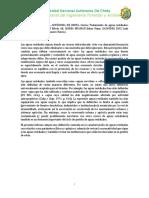 Caracterización de las aguas residuales, normatividad e instituciones que la rigen.