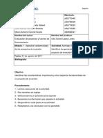 actividad 1 evaluacion de proyectos