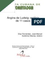 Angina de Ludwig Analisis de 11 Casos