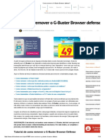 Como Remover o G-Buster Browser Defense