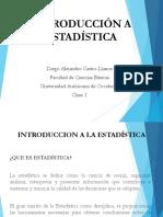 Clase 1. Introduccion a La Estadistica_Ingenieria