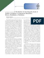 Trasnferencia de Resultados de Investigacion en Ing Biomedica