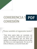 Sesión3_El Texto. Cohesión y Coherencia