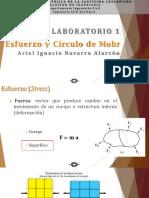 Lab I - Esfuerzo y Circulo de Mohr