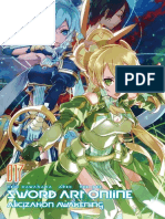 Sword Art Online 17 Alicization Awakening en Español (TSA)