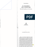 Roland Barthes - La muerte del autor.pdf