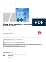 Intra-RAT Mobility Management in Connected Mode Feature Parameter Description