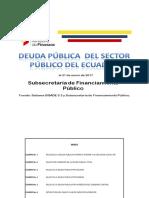 Deuda Sector Püblico Del Ecuador Enero2017 2