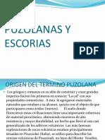 Puzolanas y Escorias