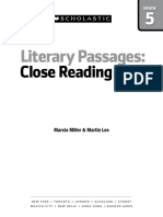 Literary Passages- Scholastic