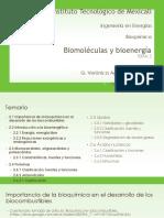U2 y T1 Biomoléculas y Bioenergía
