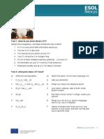 CV Writing (E2) Student Worksheets