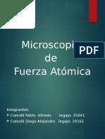 Microscopio de Fuerza Atomica
