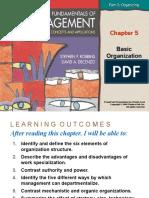 Chapt 5 Basic Organization Designs.ppt