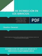 Canales de Distribución en Los Servicios