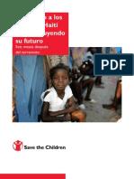 Apoyando a los niños de Haití Reconstruyendo su futuro
