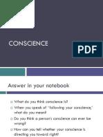 Conscience 1