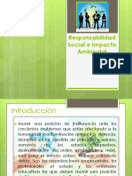 Rosponsabilidad Social e Impacto Ambiental