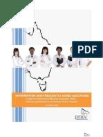 FAQ for IMG, Australia, Postgraduate Medical Council of Victoria.