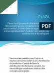 Plaza - Diseño de plantas