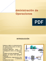 Administracion de Operaciones   de victoria palomino manrique