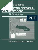 El Físico Visita Al Biólogo - K. Bogánov