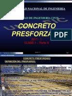 CONCRETO PRESFORZADO - CLASE 1 - parte A.pdf