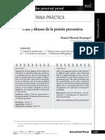 07. Miranda Estrampes - Usos y Abusos de La Prisión Preventiva