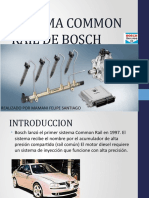 Sistema Common Rail de Bosch