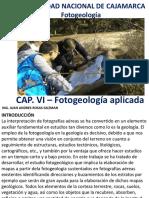 Cap. VI Fotogeologia Aplicada