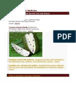 Guyabano Herbal Medicine