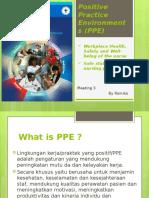 3. Positive Practice Environments