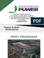 Perawatan Cooling Water System