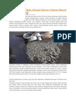 Analisis Mineral Butir