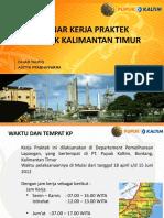 Seminar Kerja Praktek Adit Topik