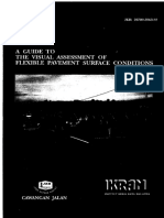 A Guide to Visual Assesstment of Flexible Pavement Surface Condition