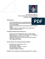 Dr. Raj Kumar Biodata