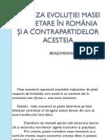 Analiza Evoluţiei Masei Monetare În România Şi A