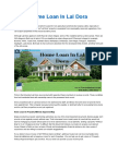 Home Loan in Lal Dora