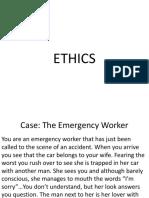 Ethics - Shs