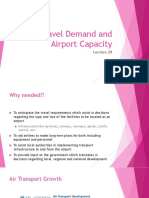 Air Travel Demand and Airport Capacity