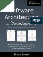 Software Architecture for Devel - Simon Brown.pdf