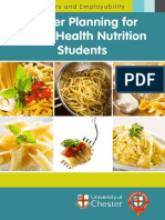 Career Planning for Public Health Nutrition Students A5 Booklet 2014-15 WEB