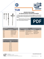 Protection Tubes for Thermometers and Thermocouples